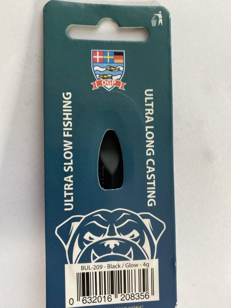 OGP Bulldog Schwarz/Glow 4 g UV