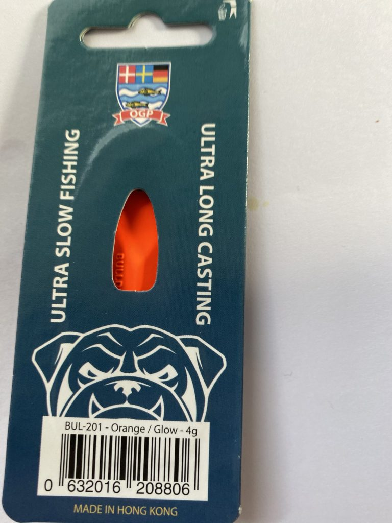 OGP Bulldog Orange/Glow 4 g UV
