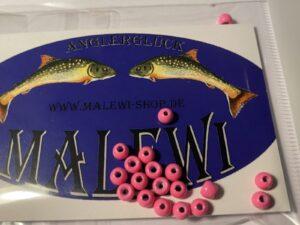 Tungsten Perlen 4 mm Fluo Pink
