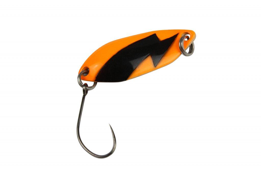 Spark Spoon 2,5g UV Orange Blitz: schwarz Farbe/schwarz
