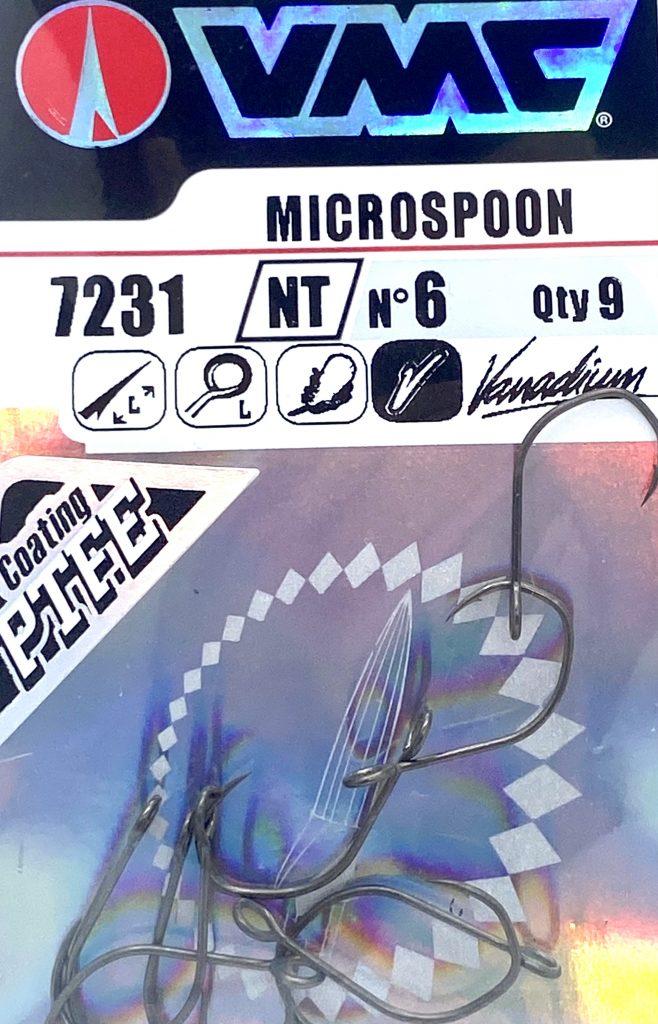 VMC -7231-Einzelnhaken für  Spoons