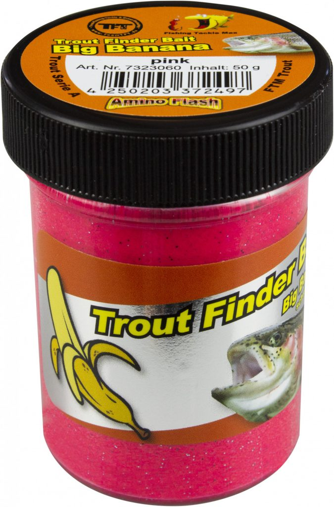 FTM Trout Finder Bait Big Banana Pink
