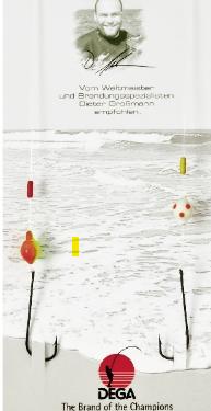 Brandungsvorfach DEGA -Surf 3 Butt, Dorsch