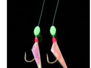 DEGA Herrings-Vorfach mit 2 Arme und Perlen