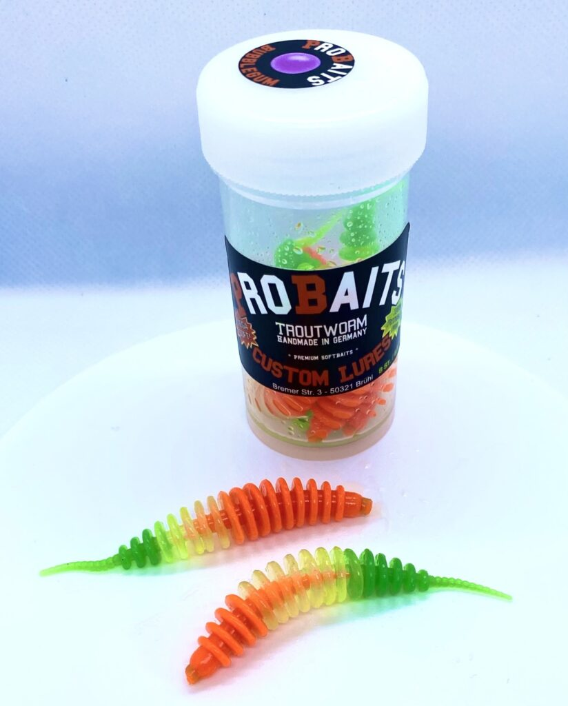 ProBaits Trout Worms 6,5 cm New Holland