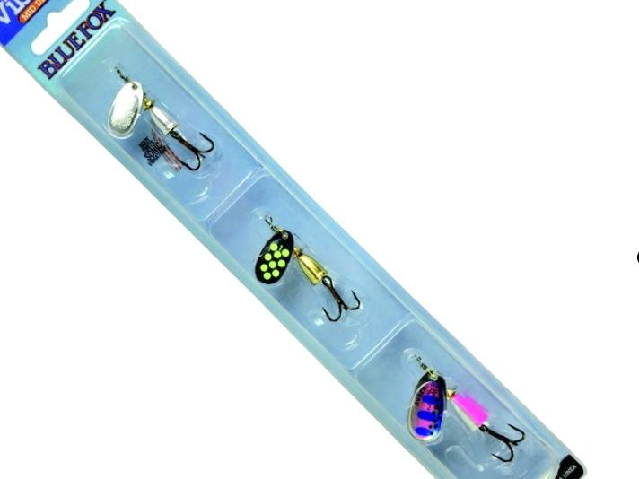 Blue Fox Kit Vibrax Truite