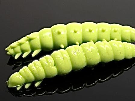 Libra Lures LARVA 35mm apple green