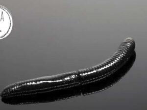 FATTY D`WORM 65mm von LIBRA LURES Black
