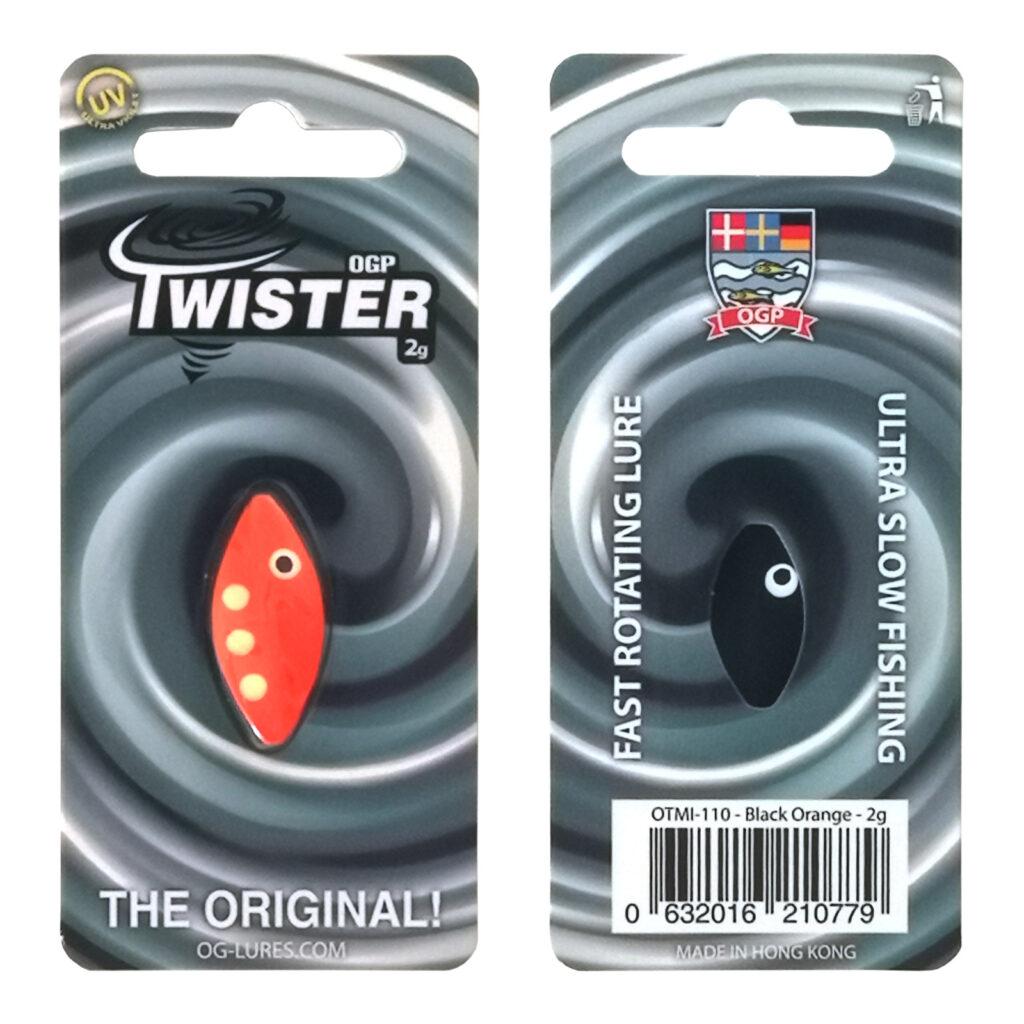 OGP Twister Black/Orange