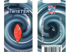 OGP Twister Black Orange Splat