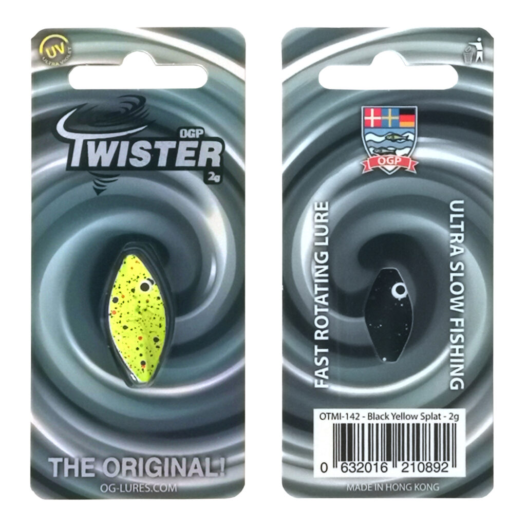 OGP Twister Black Yellow Splatt