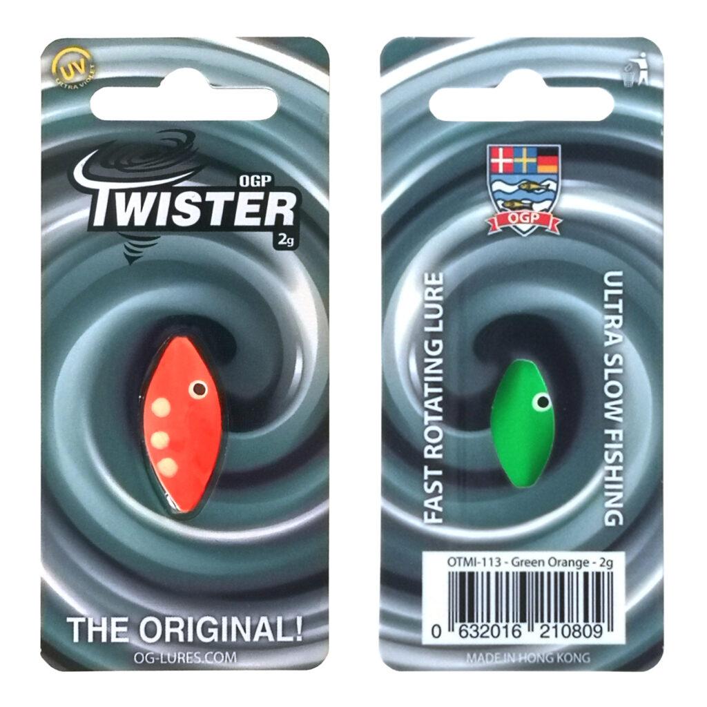 OGP Twister Green/Orange