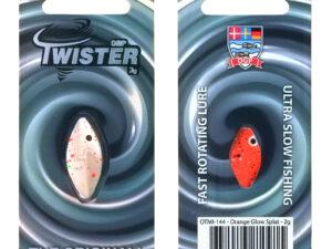 OGP Twister Orange Glow Splatt