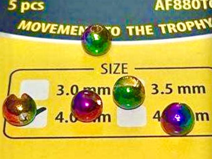 Tungsten Perlen Rainbow