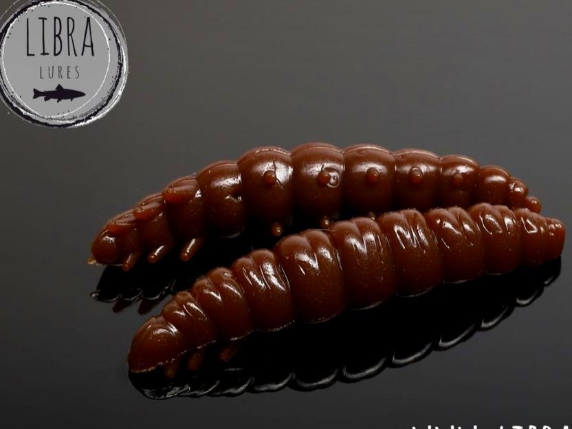 Libra Lures LARVA 45mm Braun