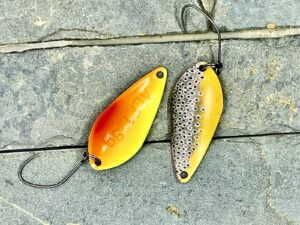 Alfred Spoon- Brown Trout 1,8g Miracle Limited Serie